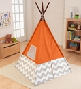 Teepee in orange by KidKraft