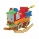 "Toddler Plush ""Freddy"" Fire Truck Rocker w/Sound"