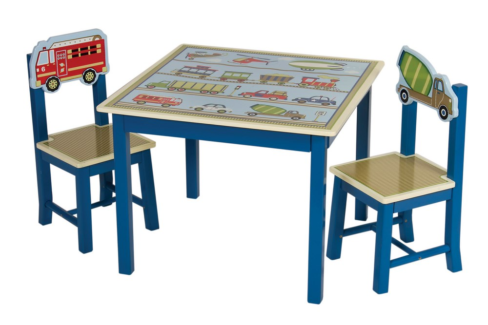 Transportation Themed Moving All Around Kids Table 2
