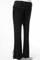 Black Maternity Pants by Japanese Weekend - Size Large
