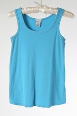 Turquoise Maternity Tank by Old Navy Maternity - Size Extra Small