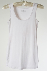 White Maternity Tank by A Pea in the  Pod - Size Extra Small