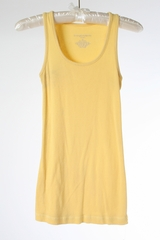 Yellow Maternity Tank by Liz Lange Maternity - Size Extra Small