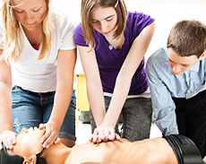 <center>CPR & First Aid Courses</center>