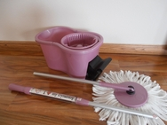 DynaMop�EXTRA Dual Function Spin Mop - Lavender