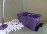 Larger Capacity Square Bucket DynaMop-EXTRA Rich Purple