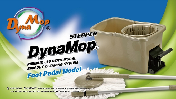 DynaMop� World's Best Spin Mop Maker | GOLD Medalist Paris Invention Show, a spin mop FERRARI | Highest Performance longest lasting spinner.  100% well made in Taiwan by original inventor/developer, superior quality, first & best Spin Mop in USA!  ORIGINAL PREMIUM SPIN MOP | DynaMop� | True Value!