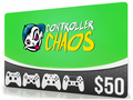 $50 Chaos Gift Card (Email Delivery)