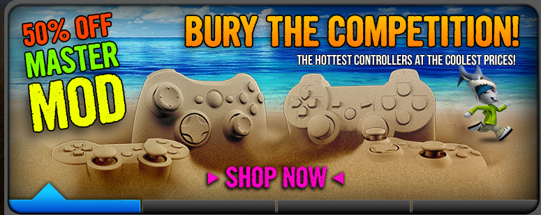 Build Your Own XBOX & PS3 Controllers