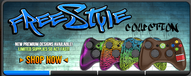 New FREESTYLE Custom Controllers