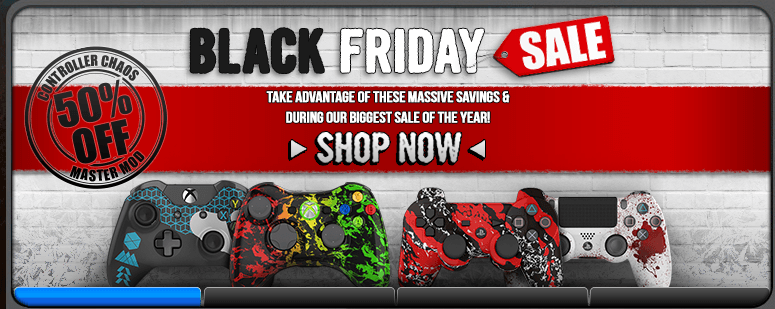 Black Friday Custom Controller Sale