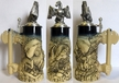 THE CHRISTMAS HAUS - German Dragon Beer Stein by KING-WORKS Wuerfel & Mueller GmbH and Co. in Hoehr-Grenzhausen