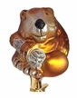 Beaver Ornament by Inge Glas in Neustadt by Coburg