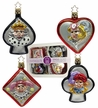Boxed Set of 4 Card Ornaments by Inge Glas