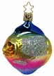 Rainbow Fish Ornament by Inge Glas in Neustadt by Coburg