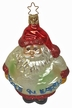 Peace On Earth Santa Ornament by Inge Glas in Neustadt by Coburg