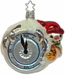 It's Almost Time, Snowman Ornament by Inge Glas