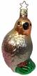 Perched in a Pear Tree Partridge Ornament by Inge Glas