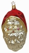 Large Santa Head Ornament by Inge Glas in Neustadt by Coburg