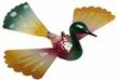 Bird with Spun Glass Wings Ornament by Inge Glas