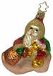 Cozy in Clog, Santa Ornament by Inge Glas in Neustadt by Coburg