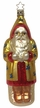On a Mission, Santa Ornament by Inge Glas in Neustadt by Coburg