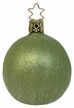 Frosted Lime Ornament by Inge Glas in Neustadt by Coburg