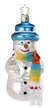 McKinley, Limited Edition Snowman Ornament by Inge Glas
