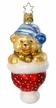 Teddy for Christmas Ornament by Inge Glas