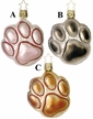 Puppy Paws Ornament by Inge Glas - $16 Each