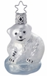 Baby Ice Bear Ornament by Inge Glas in Neustadt by Coburg