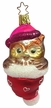 What a Hoot Owl with Pink Hat Ornament by Inge Glas in Neustadt by Coburg