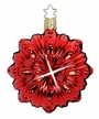 Red Shiny Fairy Eye Ornament by Inge Glas in Neustadt by Coburg