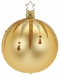 "4"" Fancy Inkagold Ball Ornament by Inge Glas in Neustadt by Coburg"