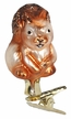 Young Squirrel Ornament by Inge Glas in Neustadt by Coburg