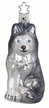 Husky Ornament by Inge Glas in Neustadt by Coburg