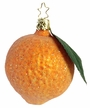 Frosted Orange Ornament by Inge Glas in Neustadt by Coburg