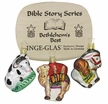 Bethlehem's Best, 3 Piece Boxed Ornament Set, Bible Story Series by Inge Glas