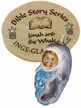 Jonah and the Whale, Boxed Ornament, Bible Story Series by Inge Glas