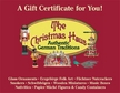 $50 Gift Certificate to The Christmas Haus