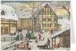 Christmas at the Farm Advent Calendar Card published by Stuttgart-based Richard Sellmer Verlag