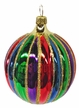 Small Colorful Ball Ornament by Hausdörfer Glas Manufaktur