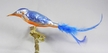 King Fisher Ornament by Glas-Bartholmes
