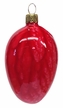 Red Easter Egg Ornament by Glas-Bartholmes