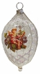 Transparent Ovoid with Angel Ornament by Glas-Bartholmes