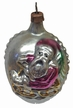 Santa on Sled Antique Style Ornament by Nostalgie