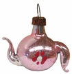 Mini Pink Teapot Antique Style Ornament by Nostalgie