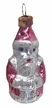 Mini Santa Antique Style Ornament by Nostalgie