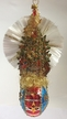 Victorian, Patriotic Christmas Tree Antique Style Ornament by Nostalgie-Christbaumschmuck UG
