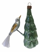 Bird on Tree Ornament by Nostalgie-Christbaumschmuck UG